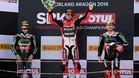 Chaz Davies subió a lo más alto del podio en Aragón