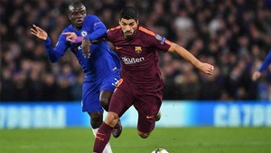 Chelsea, 1 - FC Barcelona, 1