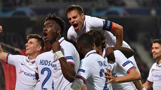 El Chelsea sufre para ganar al Lille