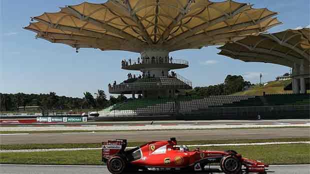 El circuito de Sepang del GP de Malasia de F1 (ES)