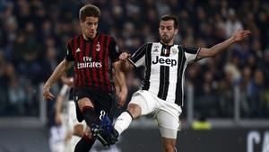 Duelo decisivo entre la Juventus y el Milan