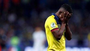 Ecuador reconfirma su mala racha en la Copa América