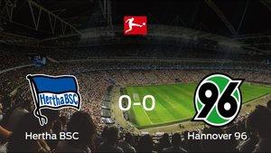 Empate 0-0 entre Hertha BSC y Hannover 96