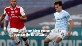 Eric Garcia, pendiente del trueque Cancelo-Semedo