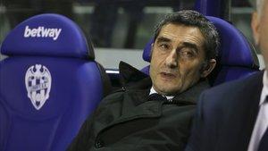 Ernesto Valverde, extécnico del Barcelona