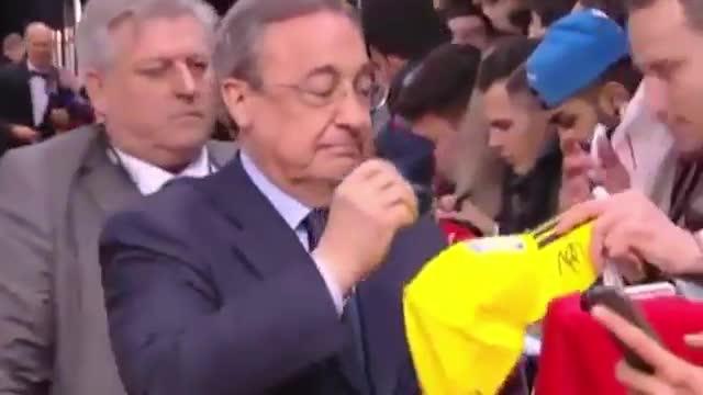 Florentino se obsesiona con Neymar