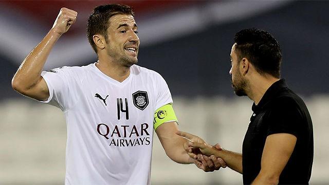 Gabi: Se nota mucho que Xavi entiende al futbolista