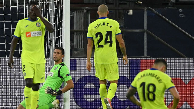 Un Getafe sin pegada no puede ante un Inter solvente