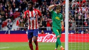El ghanés Thomas Partey podría estar meditando su salida del Atlético