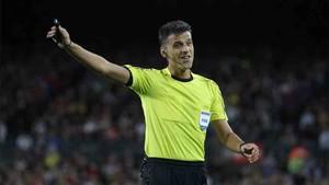 Gil Manzano pitará el Barcelona - Girona