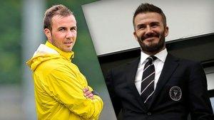 Gotze y Beckham no unirán sus caminos en el Inter Miami