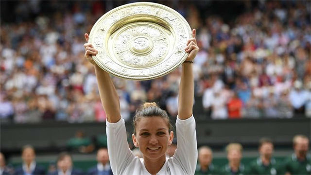 Halep arrolla a Serena Williams (6-2, 6-2) y conquista Wimbledon