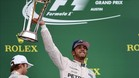 Hamilton se coronó hace un año en Austin, tras un fallo de Rosberg