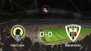 El Hércules y el Barakaldo empatan a cero en la vuelta de los Playoff