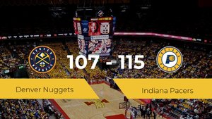 Indiana Pacers gana a Denver Nuggets (107-115)