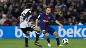 Jordi Alba fue de los más destacados