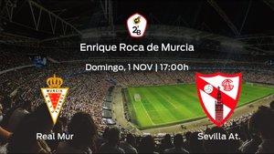 Jornada 3 de la Segunda División B: previa del duelo Real Murcia - Sevilla At.