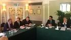 Josep Maria Bartomeu, en la reunión del Comité Ejecutivo de la ECA
