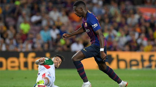 LALIGA | FC Barcelona - Alavés (3-0): Dembélé falló en un mano a mano con Pacheco