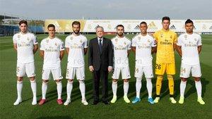 Las fotos oficiales del Real Madrid 2019/20