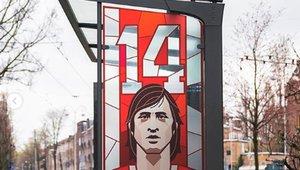 Las paradas de Amsterdam homenajean a Cruyff