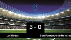 Las Rozas se lleva la victoria en su casa frente al San Fernando de Henares