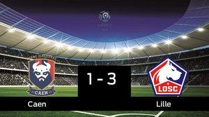 El Lille ganó en casa del Caen