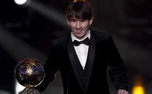 Lionel Messi logró su segundo Balón de Oro y primero de la FIFA en el 2010