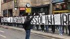 Los ultra de la Lazio han indignado a Italia