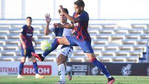 Los únicos partidos de Matheus Pereira fueron en el play-off de ascenso