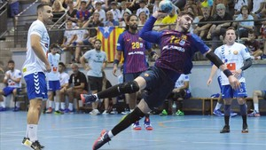 Ludovic Fabregas marcó cuatro goles en Sant Esteve Sesrovires