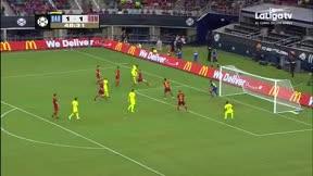 Malcom ilusiona con su primer gol como azulgrana