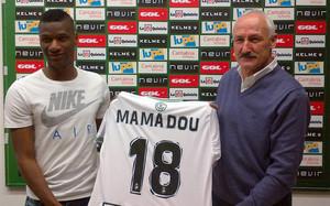 Mamadou Sylla jugará en el Racing de Santander hasta final de temporada