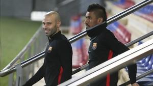 Mascherano tiene los días contados en el FC Barcelona