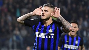 Mauro Icardi es la principal carta gol del Inter de Milán