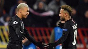Mbappé y Neymar, en la órbita del Madrid