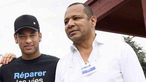 El padre de Neymar habló del futuro inmediato de su hijo