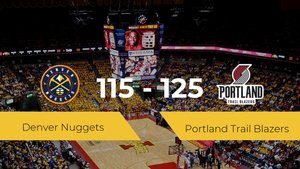 Portland Trail Blazers derrota a Denver Nuggets por 115-125