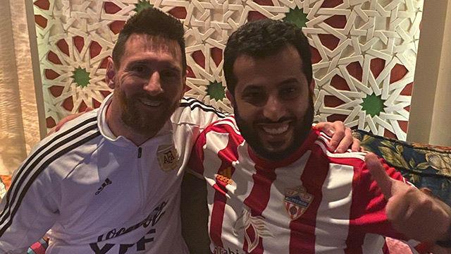 El propietario del Almería sueña con fichar a Messi
