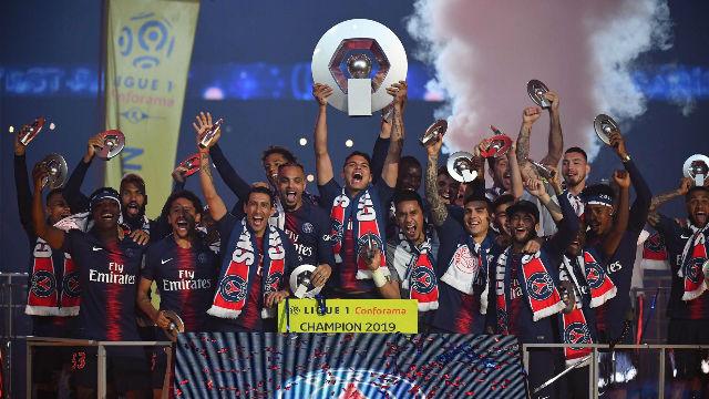El PSG se corona campeón de la Ligue 1 en el Parque de los Príncipes