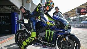 Rossi sigue dispuesto a dar guerra con su Yamaha