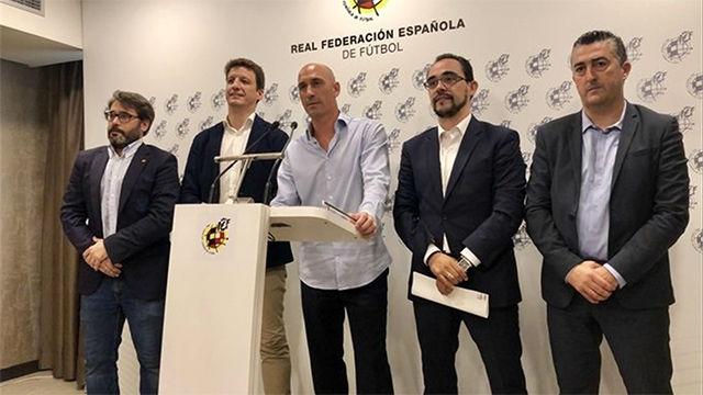 Rubiales: Es un día histórico para el fútbol español