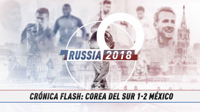 Rusia 2018 | Corea tampoco puede con México
