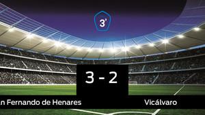 El San Fernando de Henares se queda los tres puntos