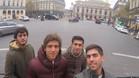 Sergi Roberto ya está de vuelta en Barcelona, tras su viaje a París