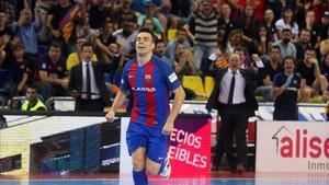 Sergio Lozano espera volver a celebrar goles en el Palau
