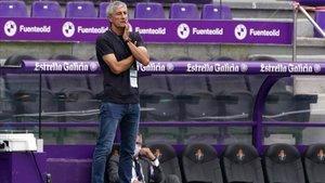 Setién plantea un cambio táctico ante el Bayern