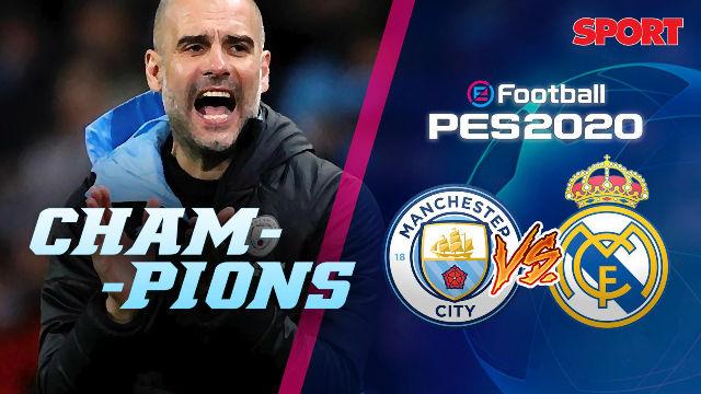 Simulamos en directo el Manchester City - Real Madrid de vuelta de los Octavos de la Champions
