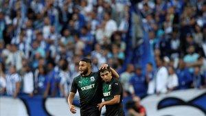 Suleymanov ha sido la figura del partido con dos goles