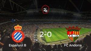 Tres puntos para el equipo local: Espanyol B 2-0 FC Andorra